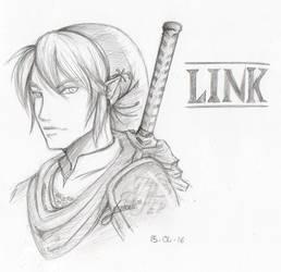 Fanart - Link by cl-em