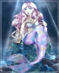 Abyssal mermaid by cl-em