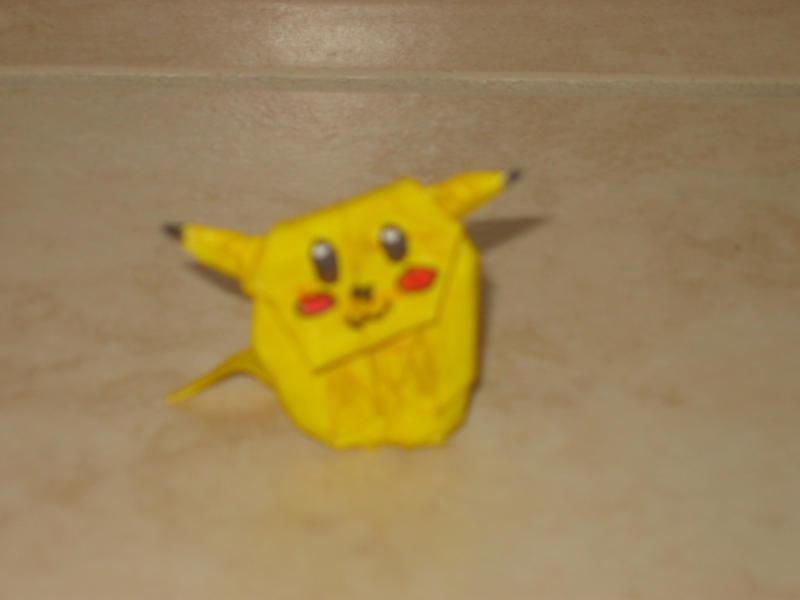 Origami - Pikachu X3 by