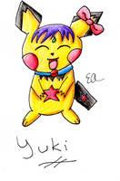 PMD - Yuki the Pichu +color+ by Katsu14