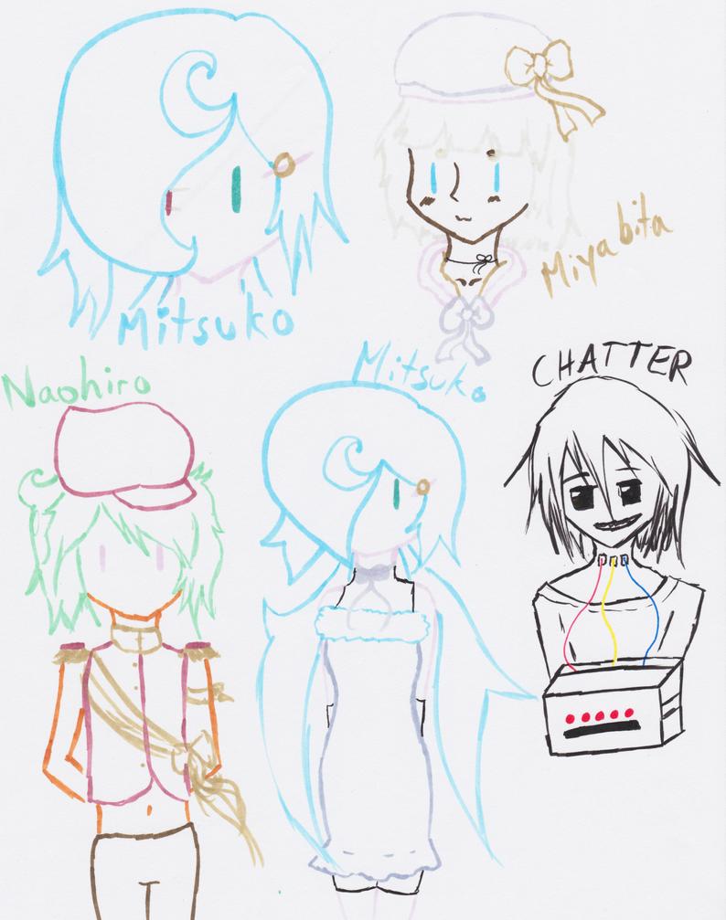 UTAU Doodles by Celestrai
