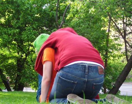 park boys get playful