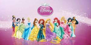DisneyPrincessLineup2013 by Stlfc