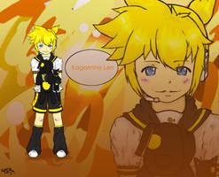 Kagamine Len is love by ShiOkami-chan