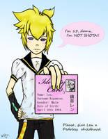 Len is NOt shota -Edited by ShiOkami-chan