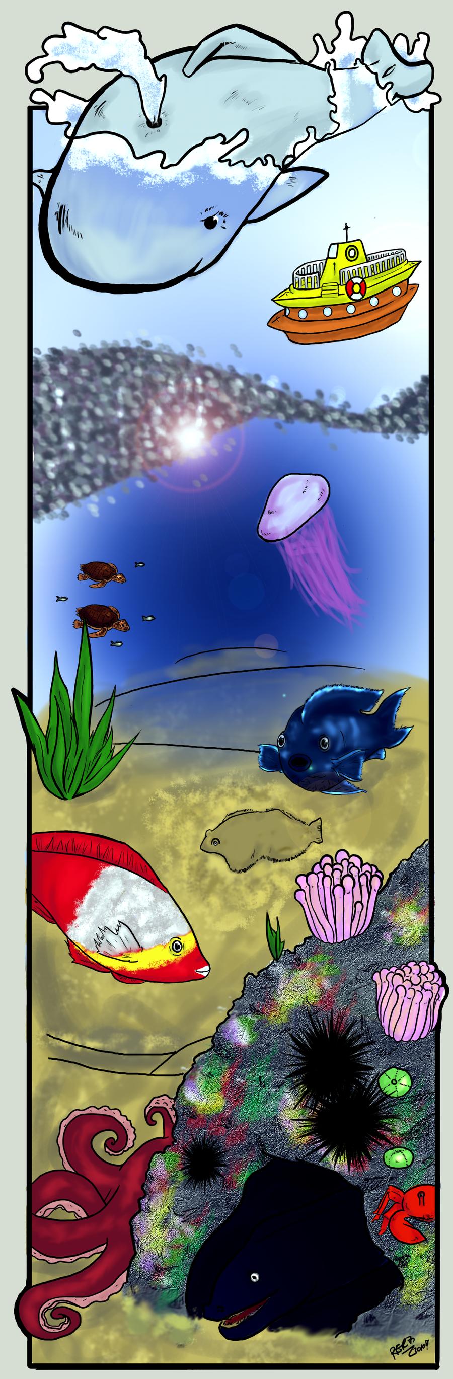 Life under the sea by ShiOkami-chan