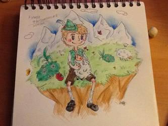 Tyrolean lamb by ShiOkami-chan