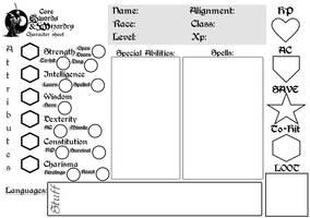 SW Character sheet core v2 by ThaumielNerub