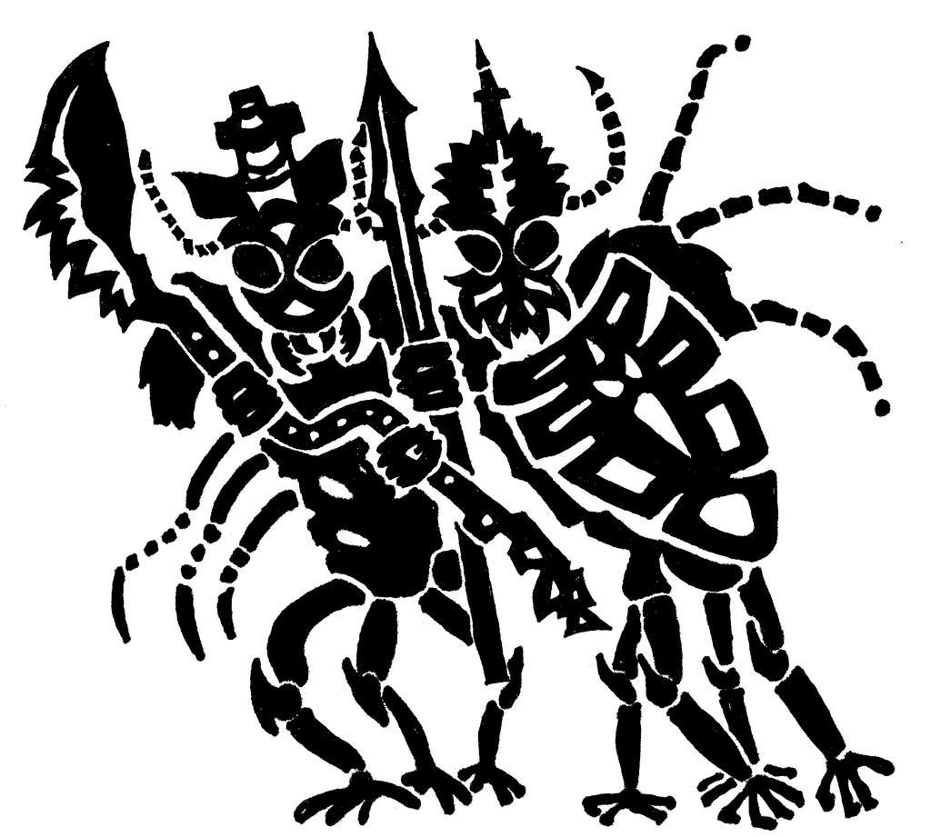 Monster dudes by ThaumielNerub