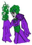 Purple Of Green Priestess Yolanda Ziggurat
