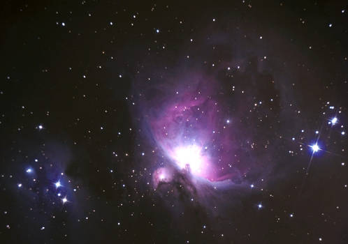 m 42 great nebula in orion