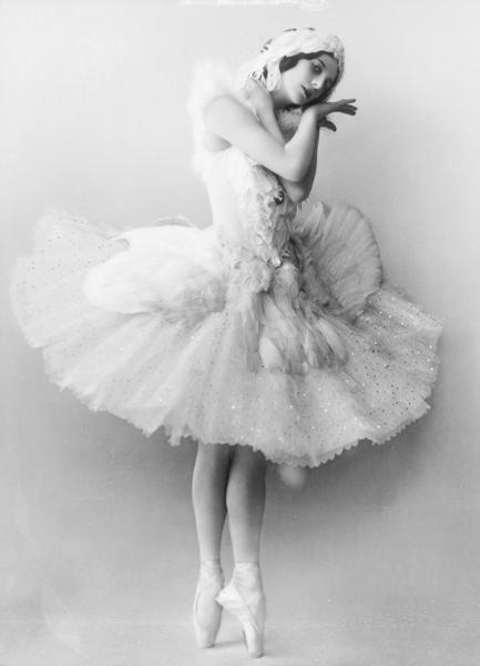 Anna Pavlova- Dying Swan by Step-in-Time-Stock