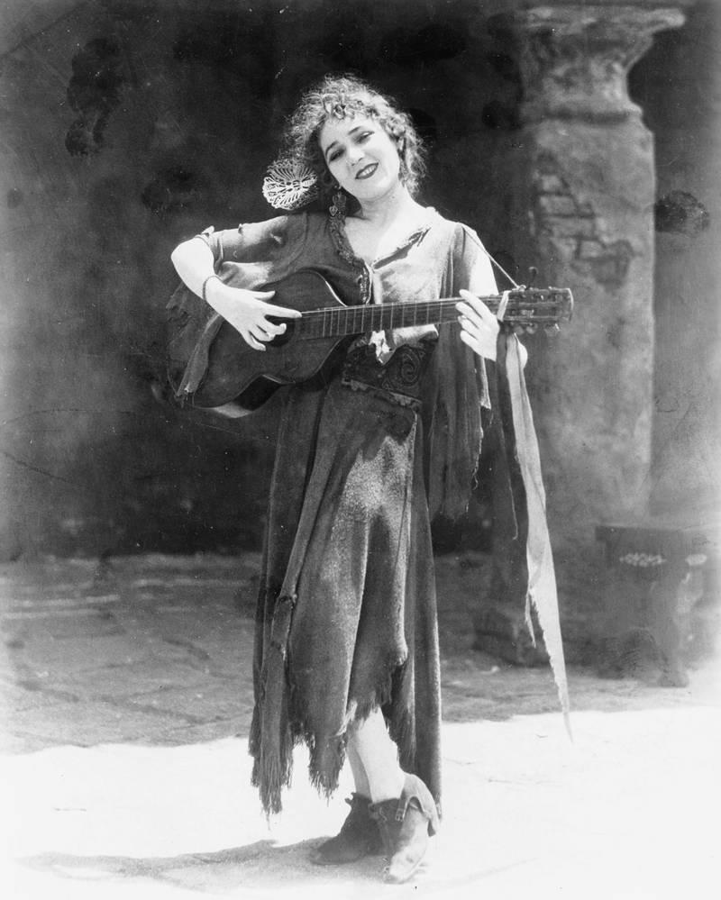 Mary Pickford as Rosita, 1920s