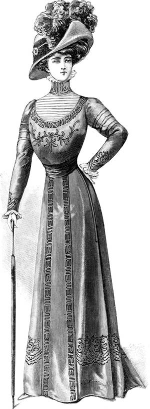 1910 Fashion Ad