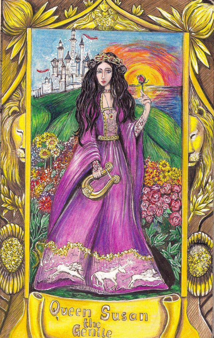 Queen Susan the Gentle by juliet999