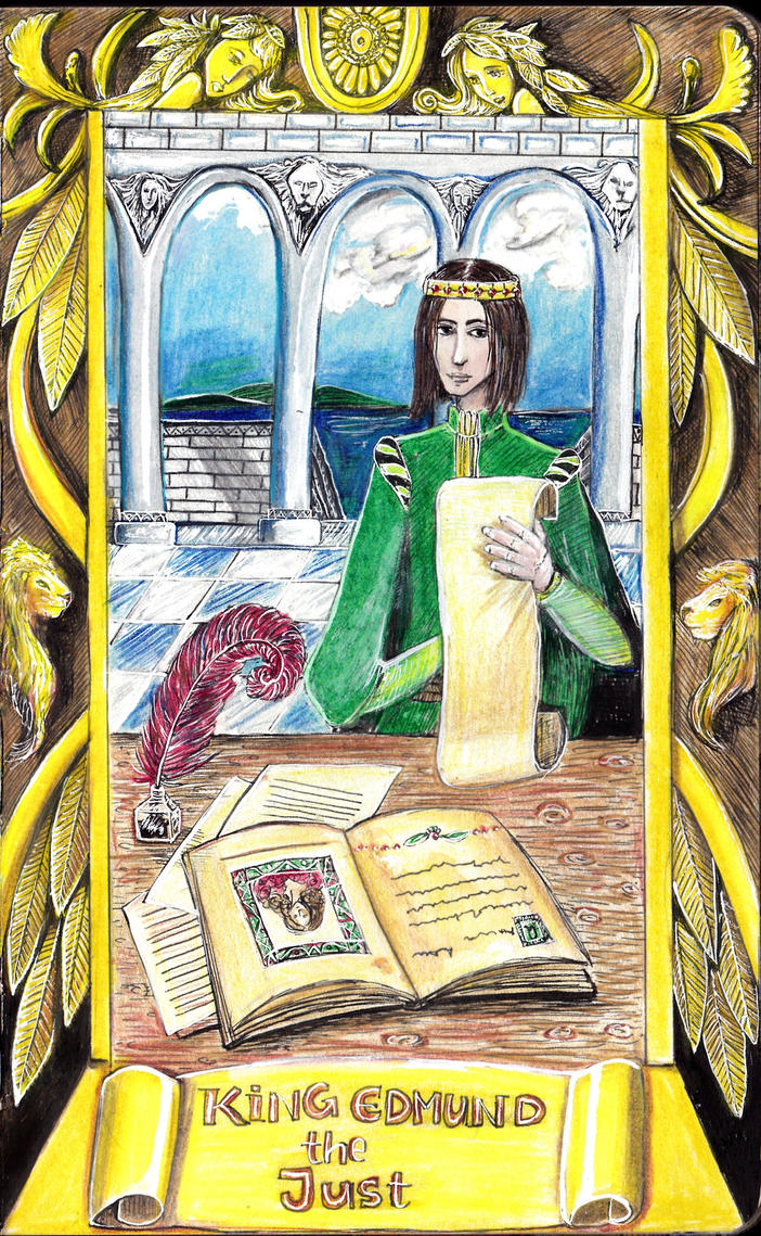 King Edmund the Just by juliet999