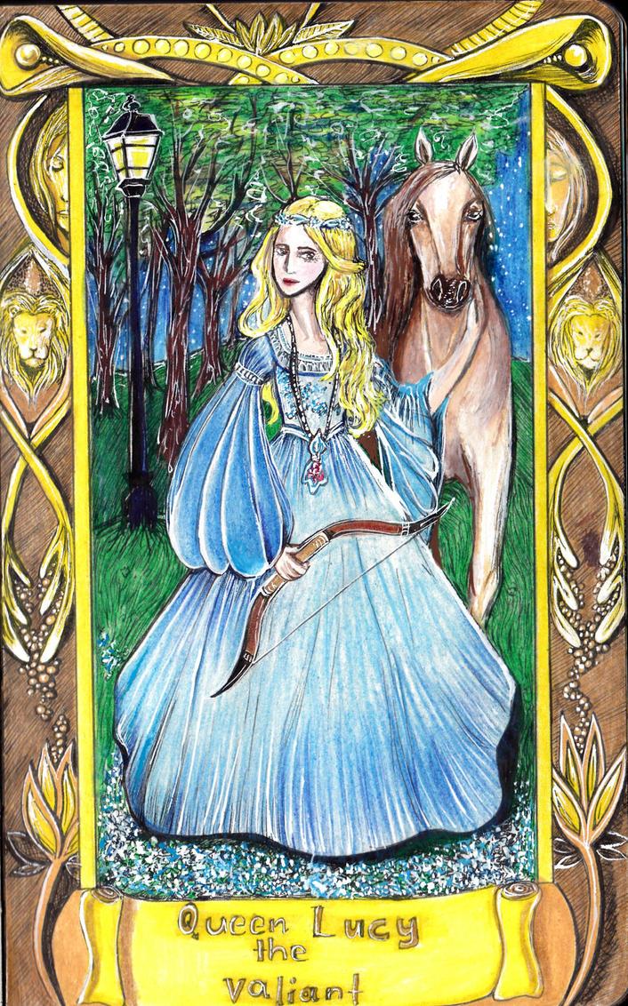 Queen Lucy the Valiant by juliet999