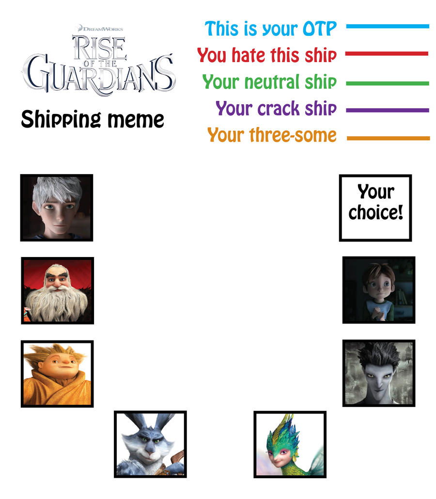 Rise of the Shipping Meme by Newsgomergirl