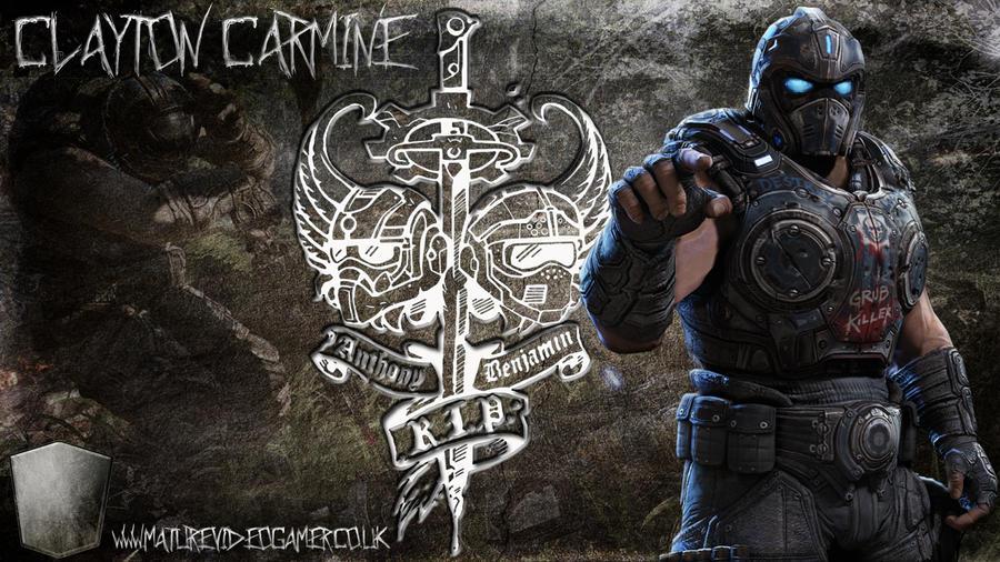 Clayton carmine by deaddoll666 on deviantart - Gears of war carmine wallpaper ...