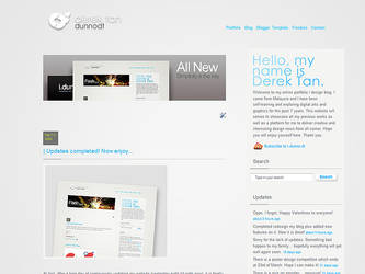 dunnodt - New Blogger Design by dunnodt
