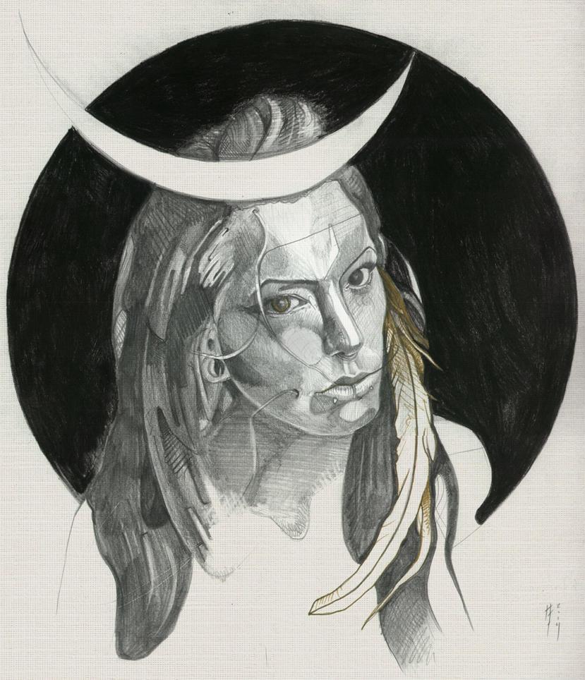 Priestess by Flind