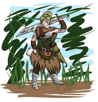 War Maiden by LadyDeliz