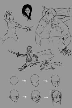 Sketchdump 4: (Or 5, IDK) The Return, Again