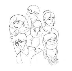 Original Characters (WIP)