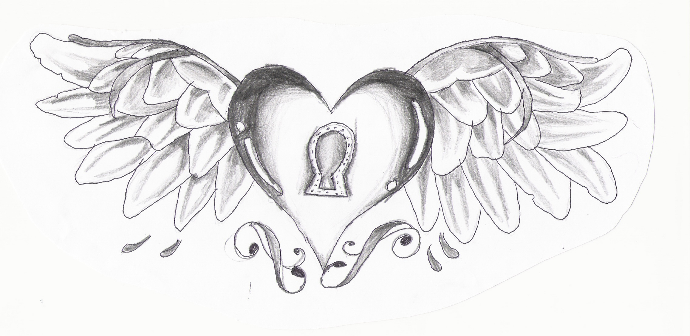Heart With Wings by FeeOhNah on DeviantArt