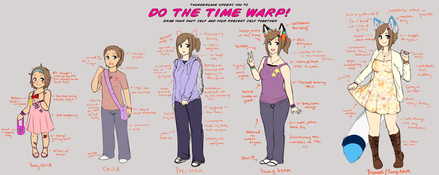 Time Warp Meme by KitsuneWaffles-chan