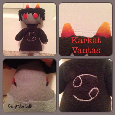 .:Gingerdoo Dolls:.Karkat.: by criticallyAbnormal