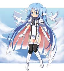 Nymph-chan by tonee89