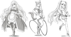 Commission : Sketches