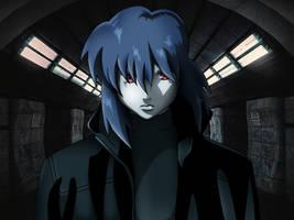 Motoko Kusanagi : Shadows by JayCosplay