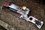 AER14 - Prototype Laser Rifle - Left Side