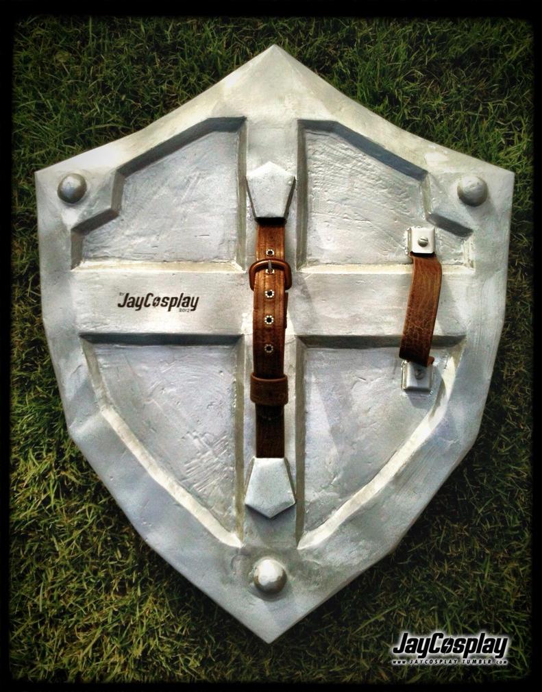 'Skyward Sword' Hylian Shield (Back) by JayCosplay