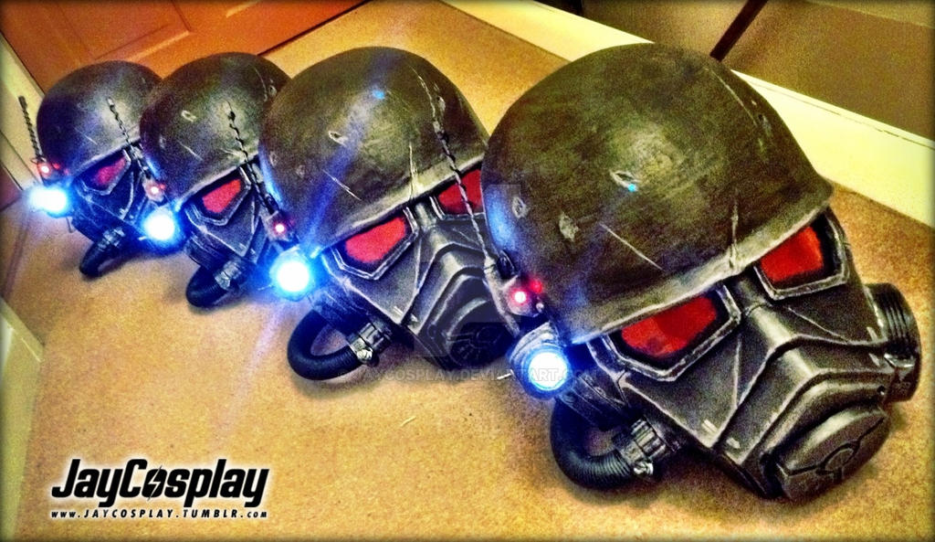 Ncr Veteran Ranger Helmets 02 By Jaycosplay On Deviantart
