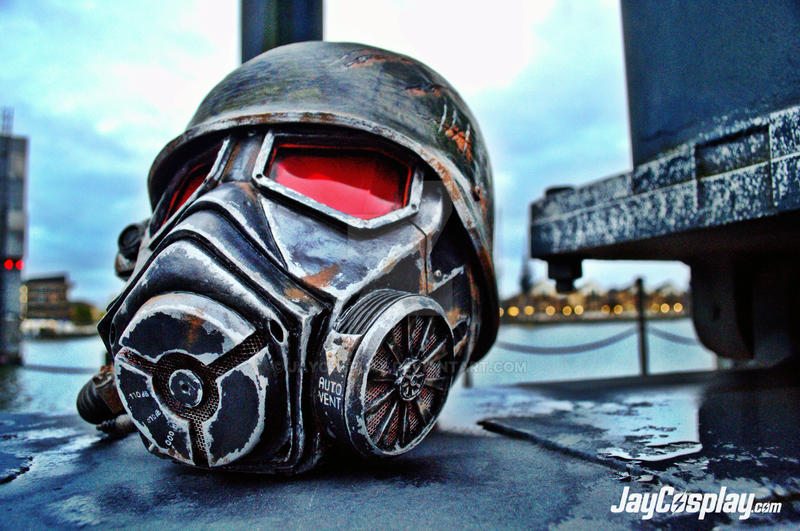 NCR Veteran Ranger v4.0 Helmet (Final) #03 by JayCosplay