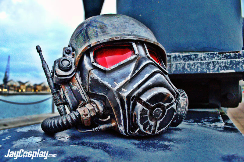 NCR Veteran Ranger v4.0 Helmet (Final) #02 by JayCosplay