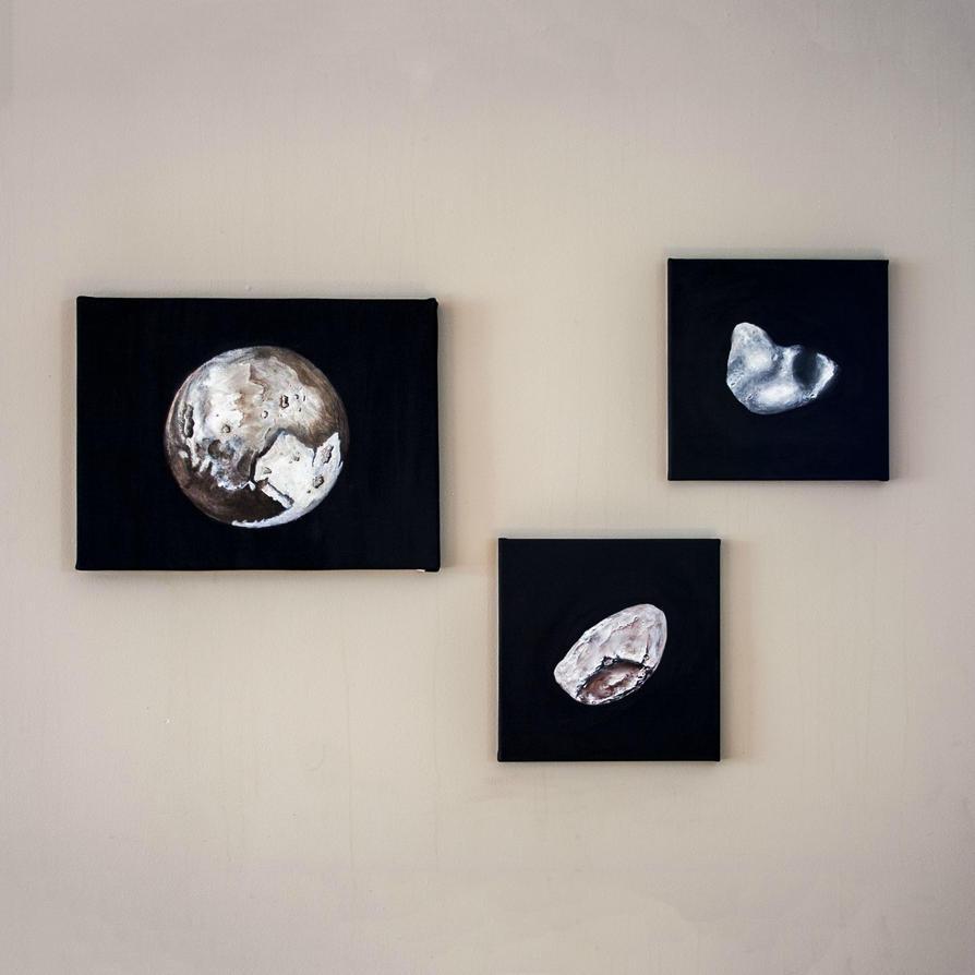 Pluto, Nix and Hydra by jbritz22