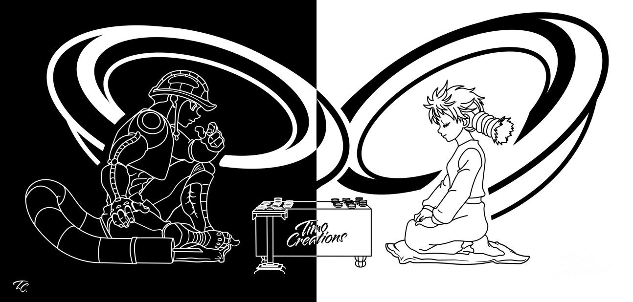 Hxh Meruem And Komugi Playing Gungi By Timocreations On Deviantart 1080p anime hunter x hunter 2011 hxh napisy pl samper. hxh meruem and komugi playing gungi