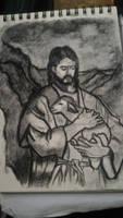Jesus Christ and her Sheep