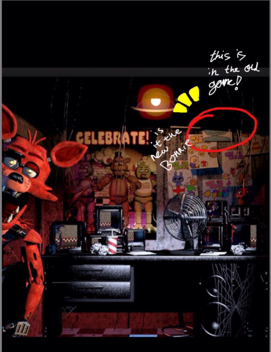 Fnaf secrets! by fnafBONNIE on DeviantArt