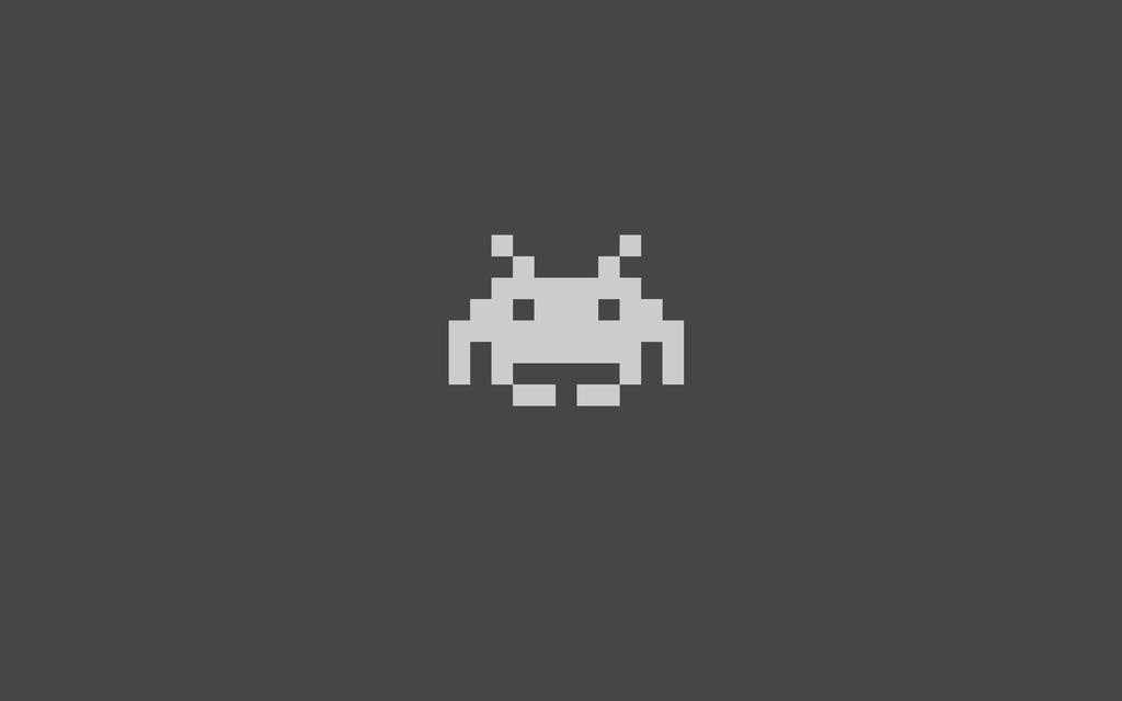 Space Invaders Wallpaper by dave109