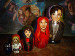 Doctor Who Eleventh Doctor Nesting Dolls