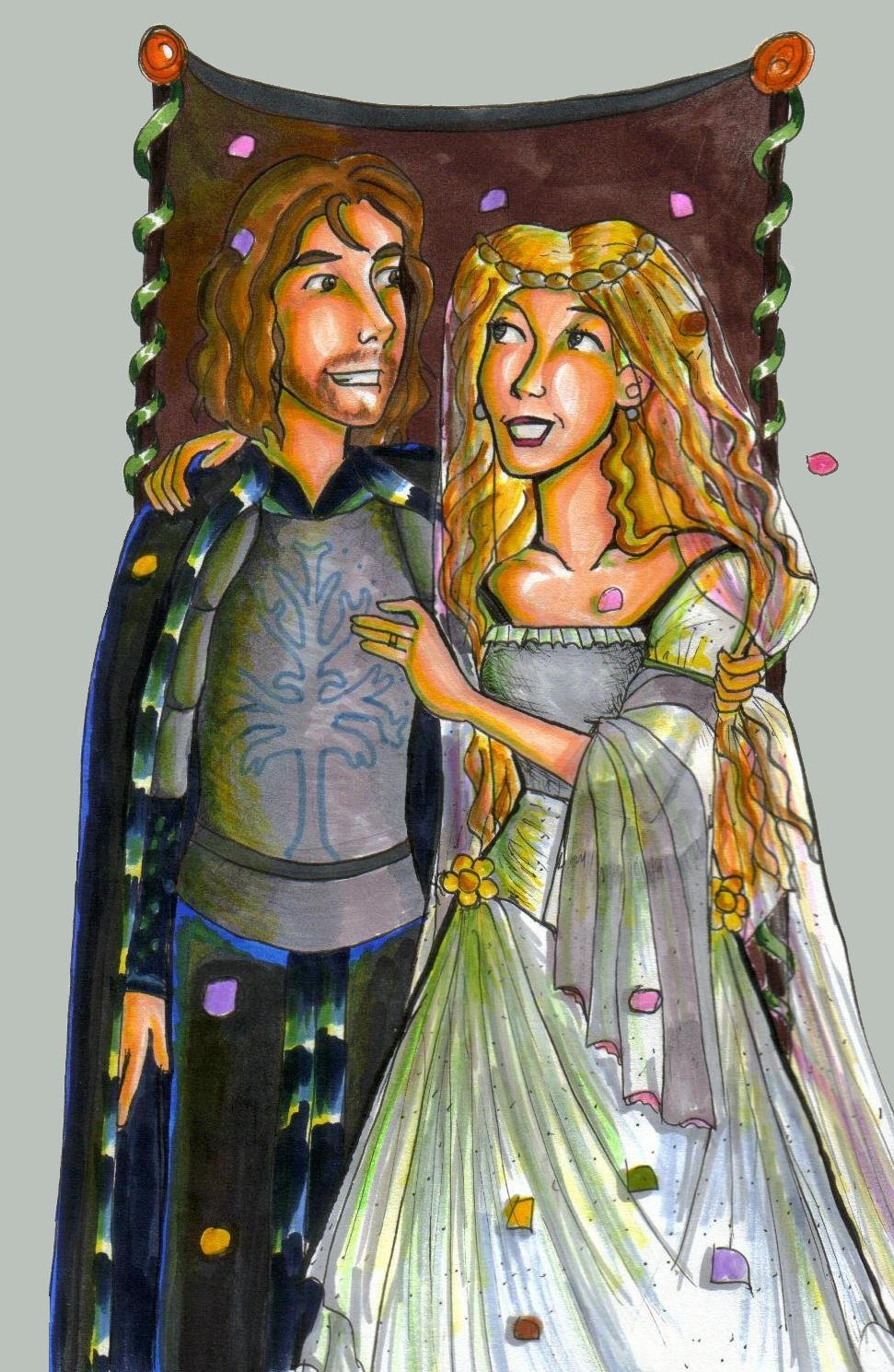 Eowyn and Faramir's We...