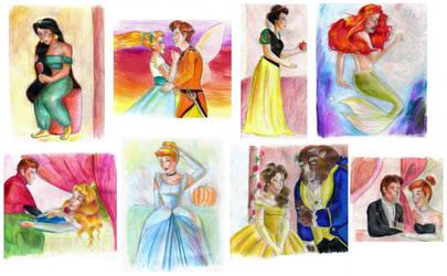 Princesses by bachel60