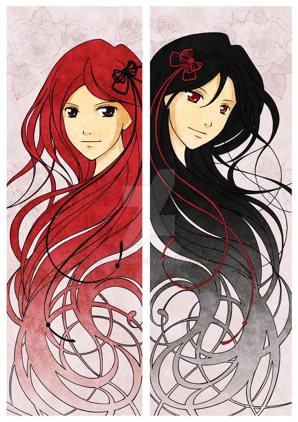 Twin Hearts by Kairi-Moon