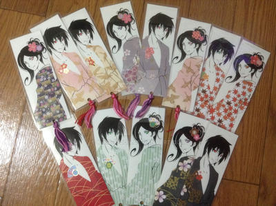 Expo Bookmarks by Kairi-Moon