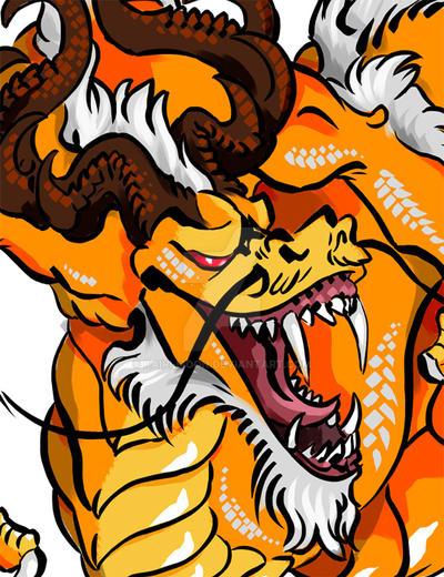Breath Dragon Colour preview by Kairi-Moon